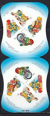 CANADA 2005 YOUTH SPORTS BOOKLET # 312 WITH 2 PANES OF 4 50c STAMPS #s 2121a-d
