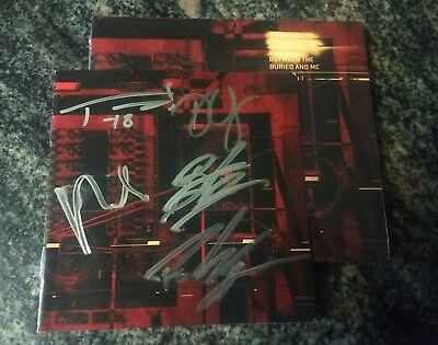 Autographed Signed Between The Buried And Me Cd - Automata