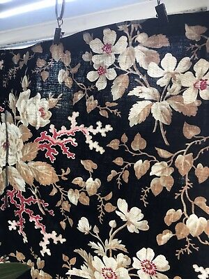 Stunning Antique french Versailles Shabby Chic Rosebuds Patchwork PAnel c1900s