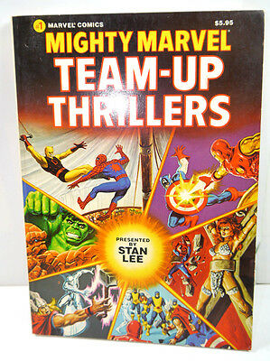 Mighty Marvel Team-Up Thrills Band 1 Comic Sc Stan Lee Comics Group ( Wrx)
