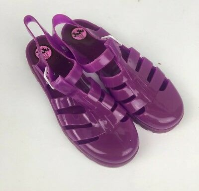 7aca3bfe0dc0 JuJu Jelly Shoes Sandals Purple Womens Size 6 Made In UK Never Worn