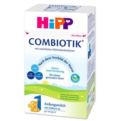 1 Box HiPP BIO Combiotic Stage 1 Organic Milk Formula GERMAN, birth on,FREE SHIP