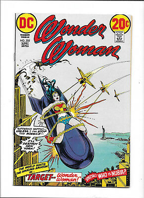 Wonder Woman #205 [1973 Vg-Fn] Statue Of Liberty Cover!  Nubia App!