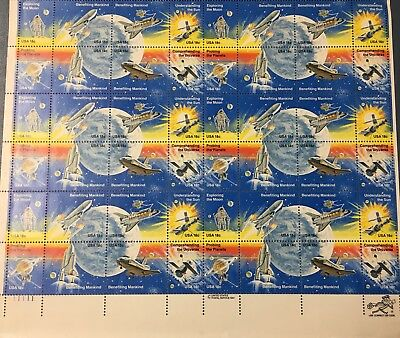 US #1912-1919 18c Space Achievement Sheet of 48 Stamps MNH Issued 1981
