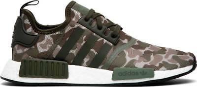 0f6d2d88e Adidas NMD R1 Camo Sesame Cargo Steel Green White Black Size Sneakers  D96617 New