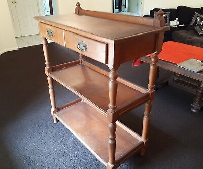 antique dumb waiter (original)