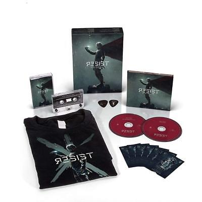 Within Temptation - Resist (Limited  Fanbox M Shirt)  3 Cd New+