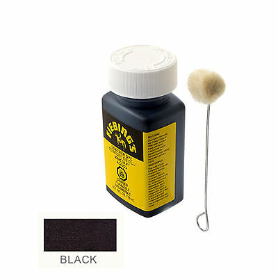 Fiebing's Leather Dye - Black - Includes one Wool Dauber