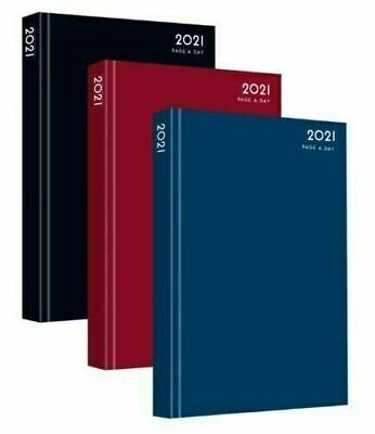 2020 A4 / A5 Diary Day to Page or Week to View Desk Diary Hard Backed Dairy NEW