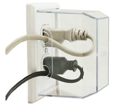 Australia LectraLock - Baby Safety Electrical Outlet Cover - Large Plug Cover -