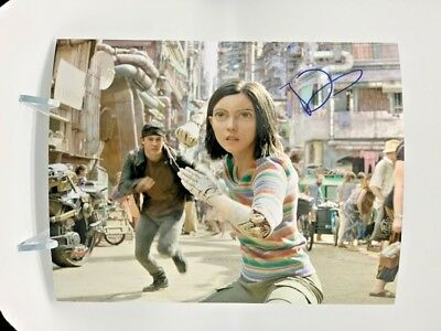 ROSA SALAZAR Signed 10x8 Photo ALITA BATTLE ANGEL AFTAL OnlineCOA
