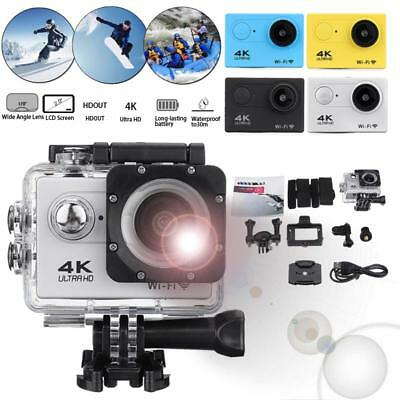 Action Sport Camera Ultra Hd 4k 1080p Wifi 30m Waterproof Camera  Go Extreme pro