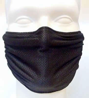 Black Comfy Mask by Breathe Healthy. For Dust, Pollen & Allergy Relief
