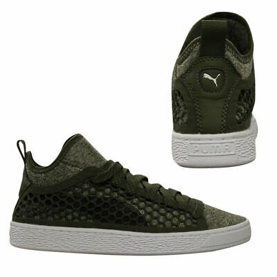 a33dac9fac1 Puma Basket Classic NETFIT Mid Mens Lace Up Trainers Textile Shoes 364249  03 U14