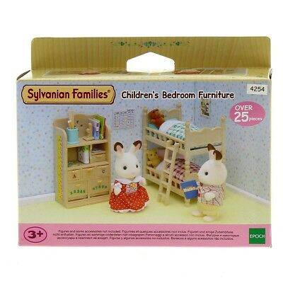 Sylvanian families - 4254 - Children's bedroom furniture - Habitacion niños
