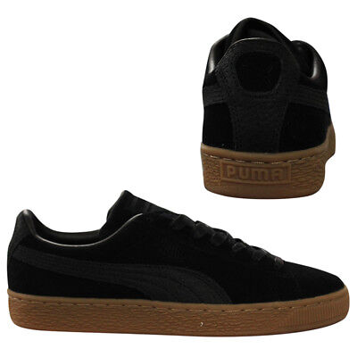 Puma Suede Classic Natural Warmth Lace Up Mens Trainers Black 363869 04 D116