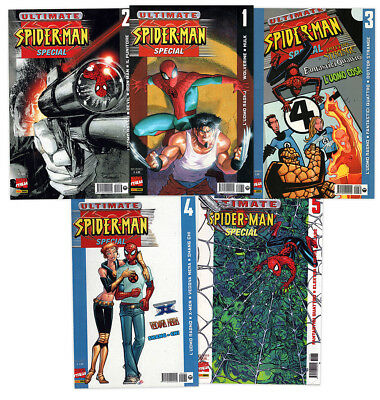serie ULTIMATE SPIDER-MAN SPECIAL completa 1/5 Ed. Marvel Panini