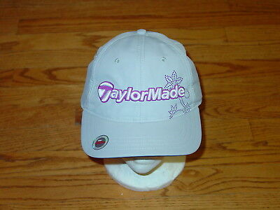 New Womens Ladies TaylorMade Golf Hat Cap UPF 50 Adjustable  32 f018f2b70026