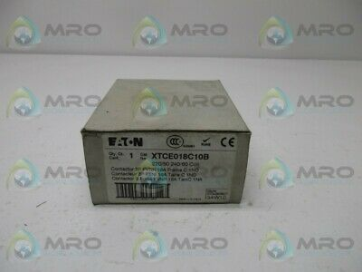 Eaton Xtce018C10 Contactor * New In Box *
