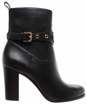 5c1021a5221 MICHAEL KORS Chaussures Femme Bottes Heather Bootie Leather 40F8HAHE5L  Black New