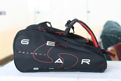 GEARBOX RACQUETBALL BAG Backpack M40 BLACK BLUE -  74.95  4f58451c30fc0
