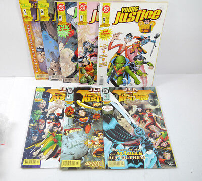 Hey Young Justice Cahier 4 5 6 7 8+ 3 Jla Spécial Cahier Comic Dino (B8)