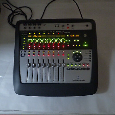 Digidesign Digi 002 Mx002 Firewire Pro Tool Le Sys Mixer Midi Audio Interface