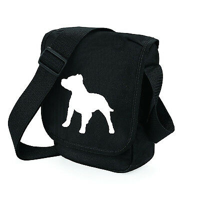 Staffordshire Bull Terrier Dog Walkers Shoulder Bags Birthday Gift free UK Post
