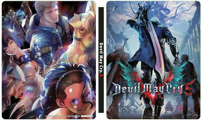 Devil May Cry 5 Steel Book Only Geo Japan Limited New Pre Order PSL F/S