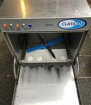 classeq eco 2 glass washer / glasswasher holds 16 pints  excellent condition