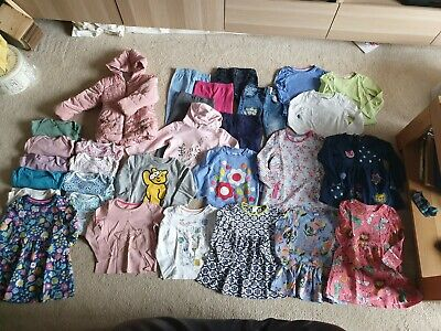 Great *Sainsburys TU Next M&S Boots Mini Club* job lot girls clothes *2-3 yrs*
