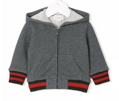 Gucci Baby Grey Hoodie Jumper Size 12/18months