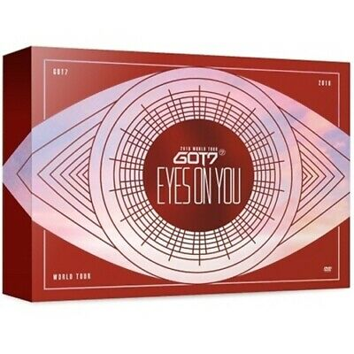 GOT7-[2018 World Tour Eyes On You] Blu-Ray+Book+Lenticular+Card+Gift+Tracking
