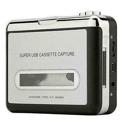 Reshow Cassette Player – Portable Tape Player Captures MP3 Audio Music