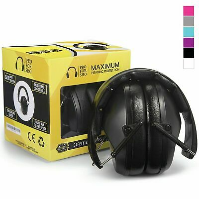 Pro For Sho 34dB Shooting Ear Protection - Special Designed Ear Muffs Lighter We