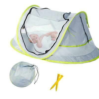 Baby Beach Tent, Portable Baby Travel Bed UPF 50+ Sun Shelters for Infant , Pop