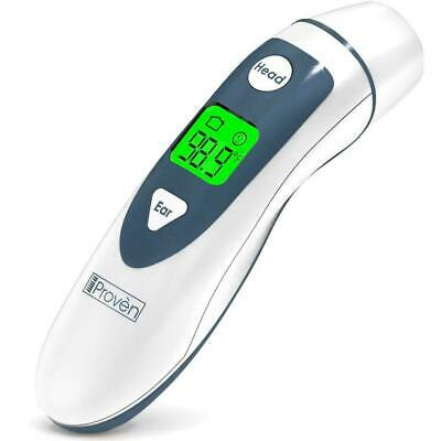 Ear Thermometer with Forehead Function - FDA Approved for Baby and Adults - iPro