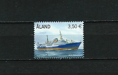 Aland - used 3.50 Euro 2010 Ferry with FDC cancel
