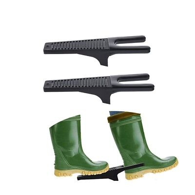 2 Pcs Traditional Boot Puller Boot Jack Wellingtons Shoe Remover Heavy Duty