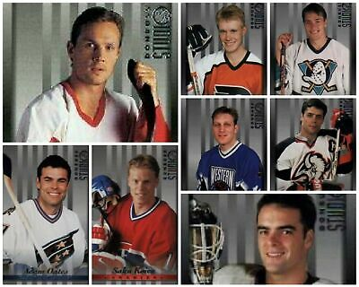 1997-98 Studio Donruss Hockey Card Set #1-110 - COMPLETE SET All 110 included