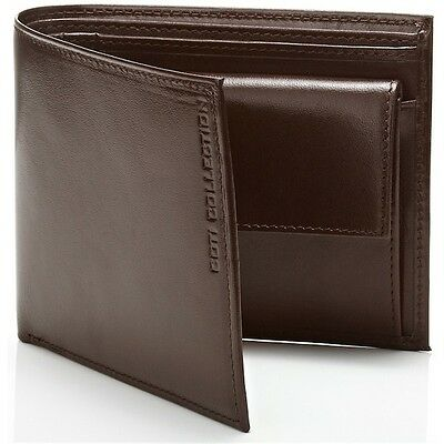 NEW Authentic Designer Genuine Leather Men's Wallet