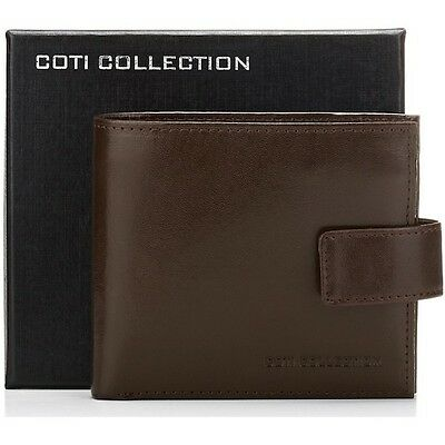 Luxury Italian Leather Designer  Men's Wallet