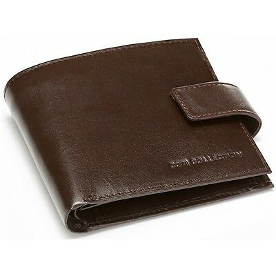 SALE!  Authentic Italian Leather Designer Mens Wallet RRP $85