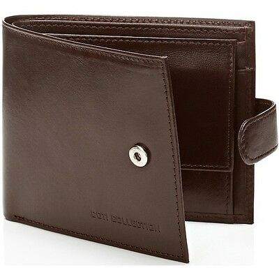 Luxury  Authentic Designer Men's Brown Wallet