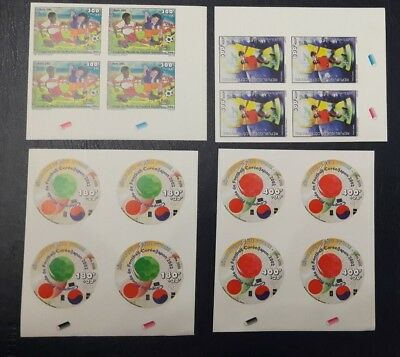 ♡ Offer♡ Cote D'ivoire Ivory Coast 2002 Imperf B4 Soccer World Cup Football  Mnh