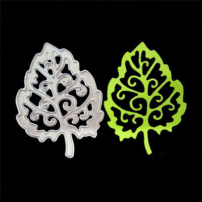 Leaves Metal Cutting Dies Stencil For DIY Scrapbooking Album/photo Cards Decor、