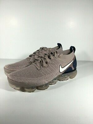 Nike Air Vapormax Flyknit 2 Diffused Taupe Phantom Mens Shoes Size 10 942842-201