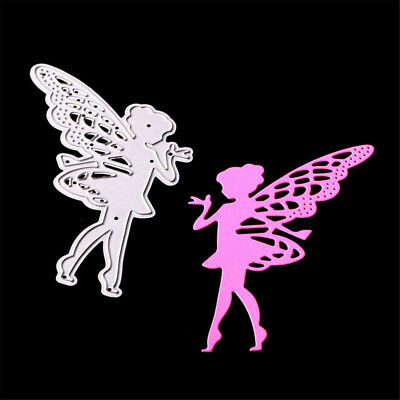 Butterfly Angel Metal Cutting Dies for DIY Scrapbooking Album/photo Card Decor、