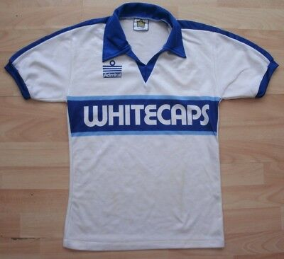 Vancouver Whitecaps 1979-1980 Admiral Nasl Football Soccer Shirt Jersey Medium