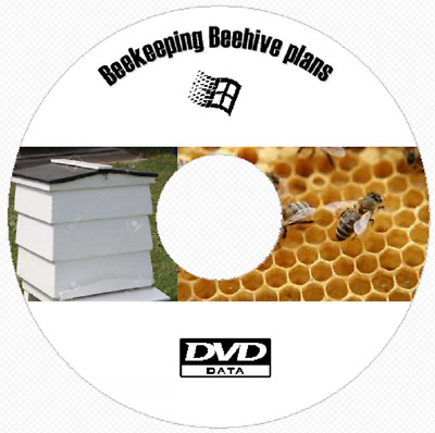 20 Abeille Ruche Construction Plans et Projects Bee Keeping Ruche DVD Rom